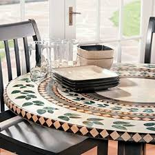 mosaic tile table top