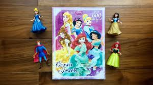 Disney Princess Sticker And Coloring Book With 600 Stickers