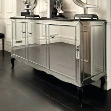 Mirror Buffet Sideboard And Over Table Dining Room