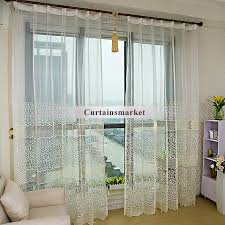 Yellow And White Chevron Curtains by Or Living Room White Sheer Curtains With Light Yellow Patterns
