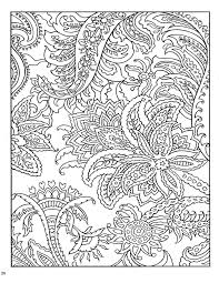60s Patterns Colouring Book Paisley Pattern Pages