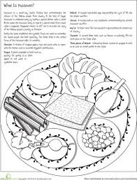 Color The Passover Seder Plate