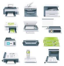 materiel bureau icône de matériel de bureau images vectorielles clipart me