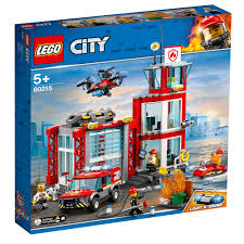 100 Lego Fire Truck Games LEGO City Station 60215 4800 Hamleys For Toys And