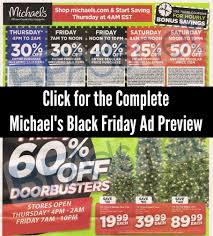 7ft Pencil Christmas Tree Michaels by Michael U0027s Black Friday Ad 2014 Ad Scans U0026 Deals