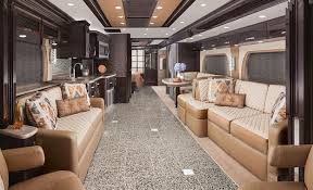 Interior Of A 2015 Newmar King Aire Class Motorized Motorhome