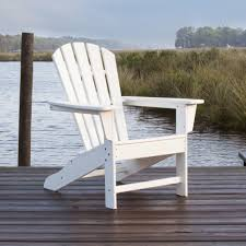 Polywood Adirondack Chairs Folding by Polywood Palm Coast Recycled Plastic Adirondack By Polywood