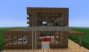 100 Modern Home Designs 2012 Wooden House Minecraft Project