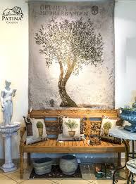 wandgobelin olivenbaum