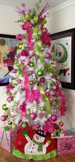 Source A White Christmas Tree Decorated With