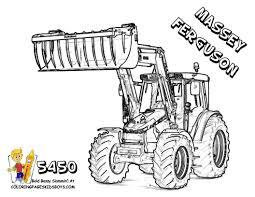 Coloriage Tracteur Les Beaux Dessins De Transport À Imprimer Et 75