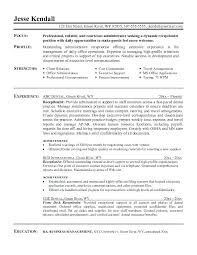 Dental Receptionist Resume Examples Sample Within