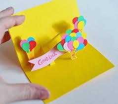 DIY Craft Paper Pop Up Card