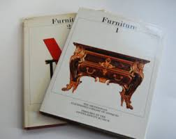 Vintage Books Furniture Volume 1 And 2
