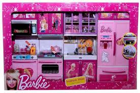 Speoma Barbie Dreamhouse Kitchen Light Sound Barbie Dreamhouse