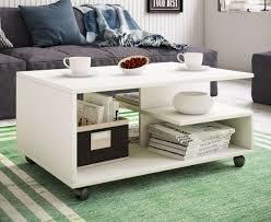 couchtisch rollen sofatisch wohnzimmertisch rollbar wohnzimmer tisch stango