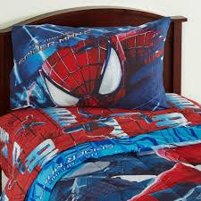 Spiderman Twin Bedding by Marvel The Amazing Spider Man Boy U0027s Twin Sheet Set