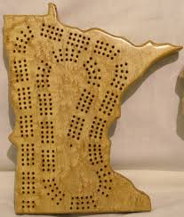State Cribbage Boards
