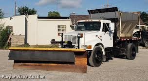 1996 International 4900 Flat Dump Bed Truck | Item EF9851 | ...