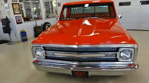 100 1969 Chevy Trucks Chevrolet C10 Pickup Short Bed Fleet Side Stock 819107 For