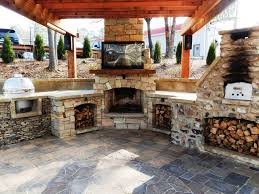 Decor & Tips: Outdoor Pizza Oven For Outdoor Living Space Ideas ... Build Pizza Oven Dome Outdoor Fniture Design And Ideas Kitchen Gas Oven A Pizza Patio Part 3 The Floor Gardengeeknet Fireplaces Are Best We 25 Ovens Ideas On Pinterest Wood Building A Brick In Your Backyard Building Brick How To Fired Ovenbbq Smoker Combo Detailed Brickwood Ovens Cortile Barile Form Molds Pizzaovenscom Backyard To 7 Best Summer Images Diy 9 Steps With Pictures Kit