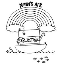Fresh Decoration Noahs Ark Coloring Pages Top 10 Noah And The Your Toddler Will Love To