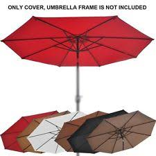 Patio Umbrella Replacement Canopy 8 Ribs by Garden U0026 Patio Umbrellas Ebay