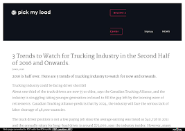 100 Truck Driver Average Salary 3 Trends To Watch For Trucking Industry In The Second Half