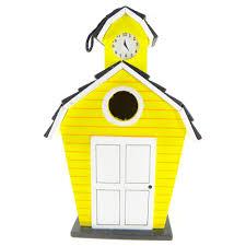 Squirrel Feeder Adirondack Chair by Daze Yellow House Birdhouse Feeder Daze