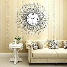 Flower Wall Decor Target by Living Room Wall Clocks Design U2013 Musingsofamodernhippie
