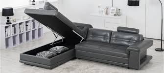 canapé cuir gris anthracite canapé taupe prix discount