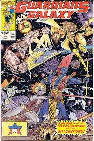 Guardians Of The Galaxy 1990 Comic