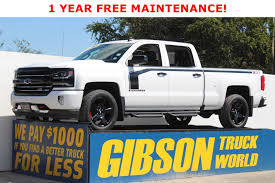 100 Gibson Super Truck Exhaust Used 2018 Chevrolet Silverado 1500 For Sale Sanford FL 41451