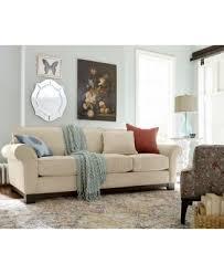 elegant macys sleeper sofa with elliot fabric microfiber queen