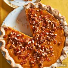 Pumpkin Pie With Pecan Praline Topping by Pumpkin Pie
