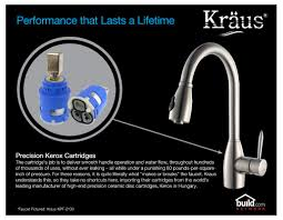 Used Commercial Pre Rinse Faucet by Faucet Com Kpf 1602 Ksd 30ch In Chrome By Kraus