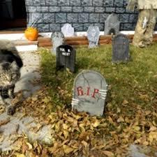 Sunnydaze RIP Graveyard Tombstone Halloween Decoration 24