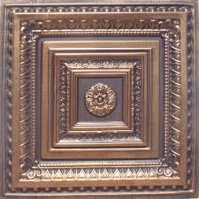 24 x24 brilliance antique bronze black pvc 20mil ceiling tile c