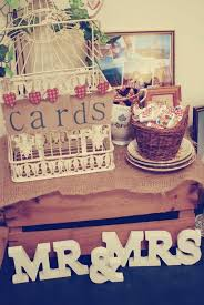 Rustic Vintage English Country Barn Wedding Details Welcome Table