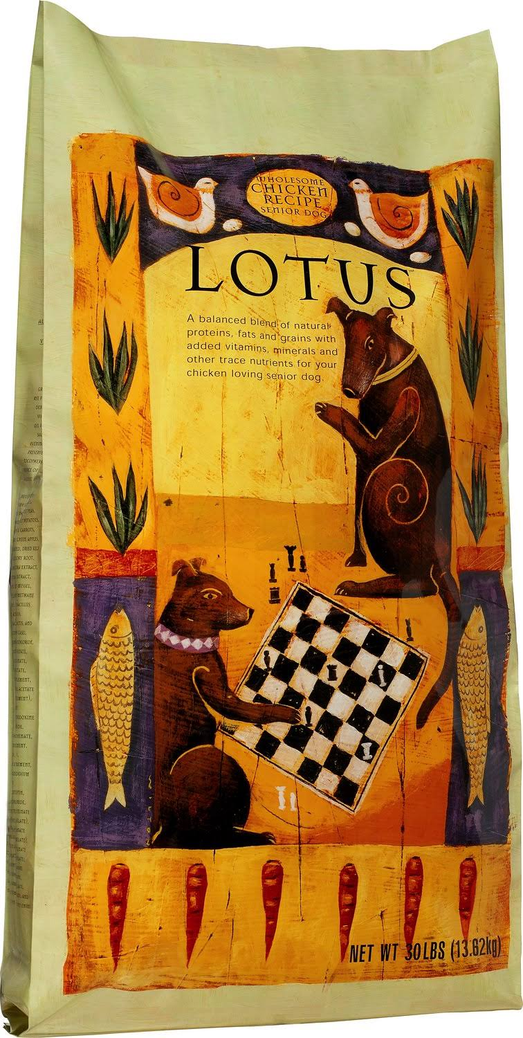 Lotus Senior & Small Bite Senior Dog Food - Chicken