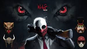 Payday 2 Halloween Masks Unlock by Payday 2 Wolf Pack Masks Youtube