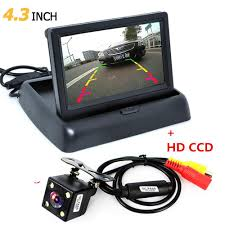 Online Cheap Foldable 4.3 Inch Tft Lcd Mini Car Monitor With Rear ... Chevrolet And Gmc Multicamera System For Factory Lcd Screen 5 Inch Gps Wireless Backup Camera Parking Sensor Monitor Rv Truck Backup Camera Monitor Kit For Busucksemitrailerbox Ebay Cheap Rearview Find Deals On Pyle Plcm39frv On The Road Cameras Dash Cams Builtin Ir Night Vision Rear View Back Up Amazoncom Cisno 7 Tft Car And Mirror Carvehicletruck Hd 1920 New Update Digital Yuwei System 43
