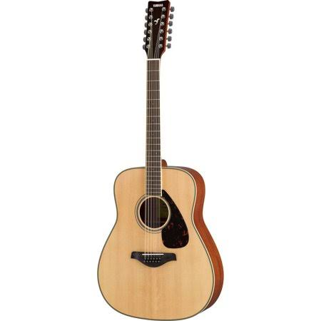 Yamaha 12 String Solid Top Acoustic Guitar