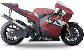 The Paper Craft Model Of YZR M1