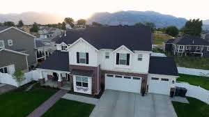 Oakwood Homes Aerial Video American Fork Utah