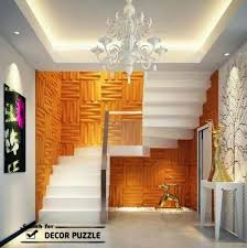 Staircase Wall Decoration Decorative 3D Art Panels