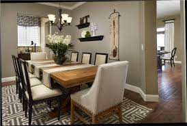 how to decorate dining room table