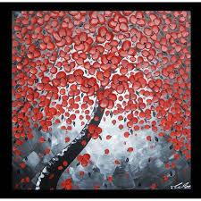 acrylbild auf leinwand baum baumbilder bilder für