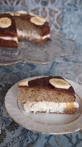 saftige bananentorte ohne zucker