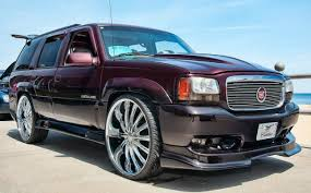 cadillac escalade white with 24 inch rims Google Search